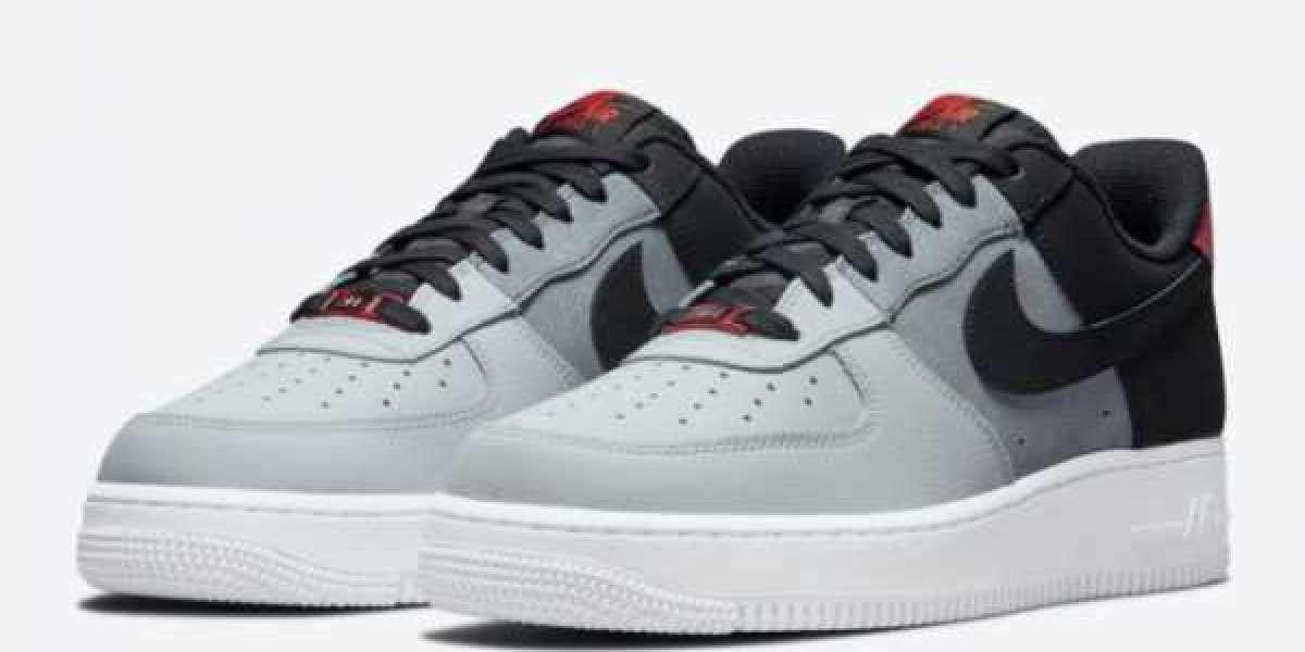 Nike Air Force 1 07 LV8 Black Smoke Grey 2021 New Arrival CZ0337-001