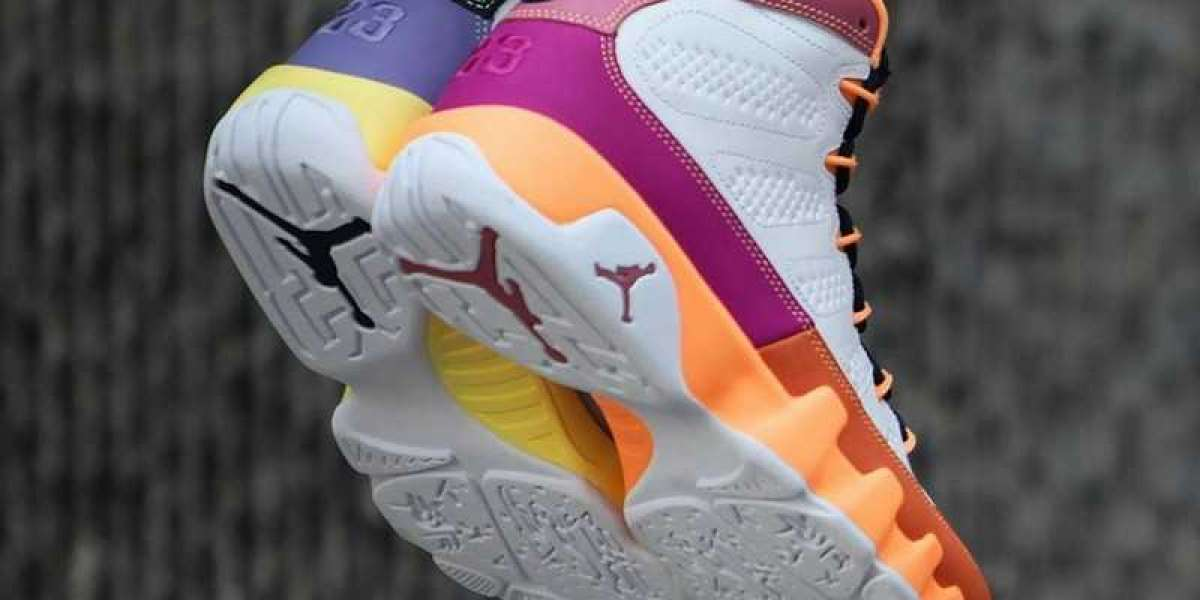 "CV0420-100 WMNS Air Jordan 9 ""Cactus Flower""/""Change The World"" is very beautiful"