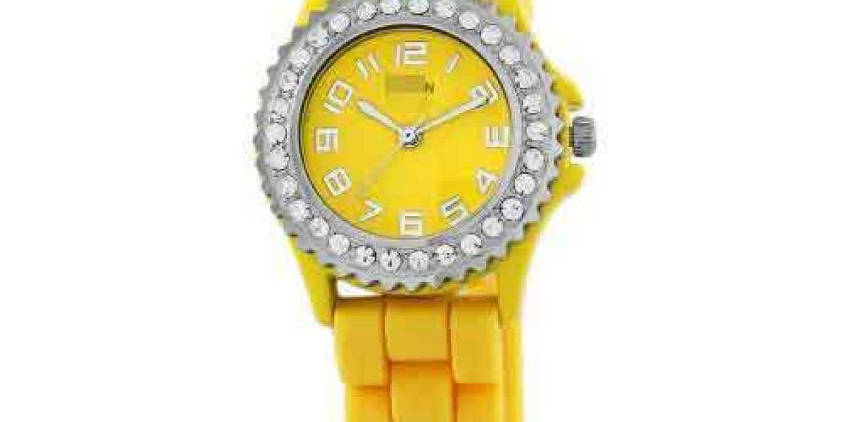 Online Shopping Fashion Customize Black Watch Face