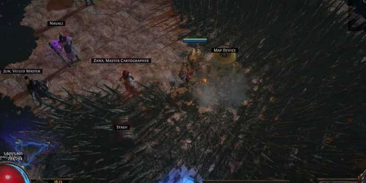 More details about the latest extension of Path of Exile