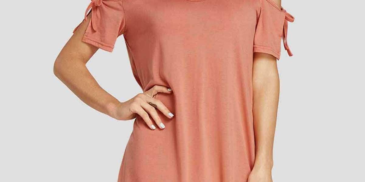 V-Neck Plain Lace 3/4 Sleeve Burgundy Plus Size Dress